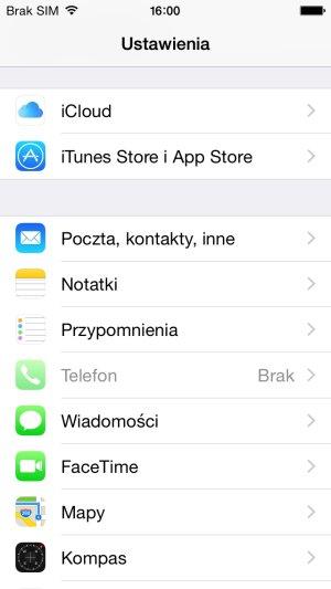 Dodawanie konta poczty Gazeta.pl na iPhone
