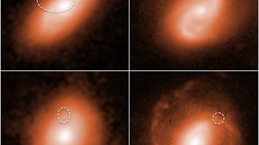 Teleskop Hubble'a namierzył pięć potężnych szybkich błysków radiowych. Wiemy, skąd pochodzą