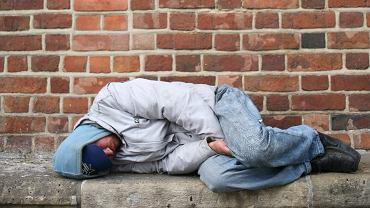 Bezdomny [zdjęcie ilustracyjne]