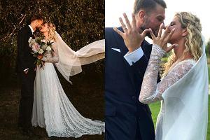 Ślub Zborowskiej i Wrony
