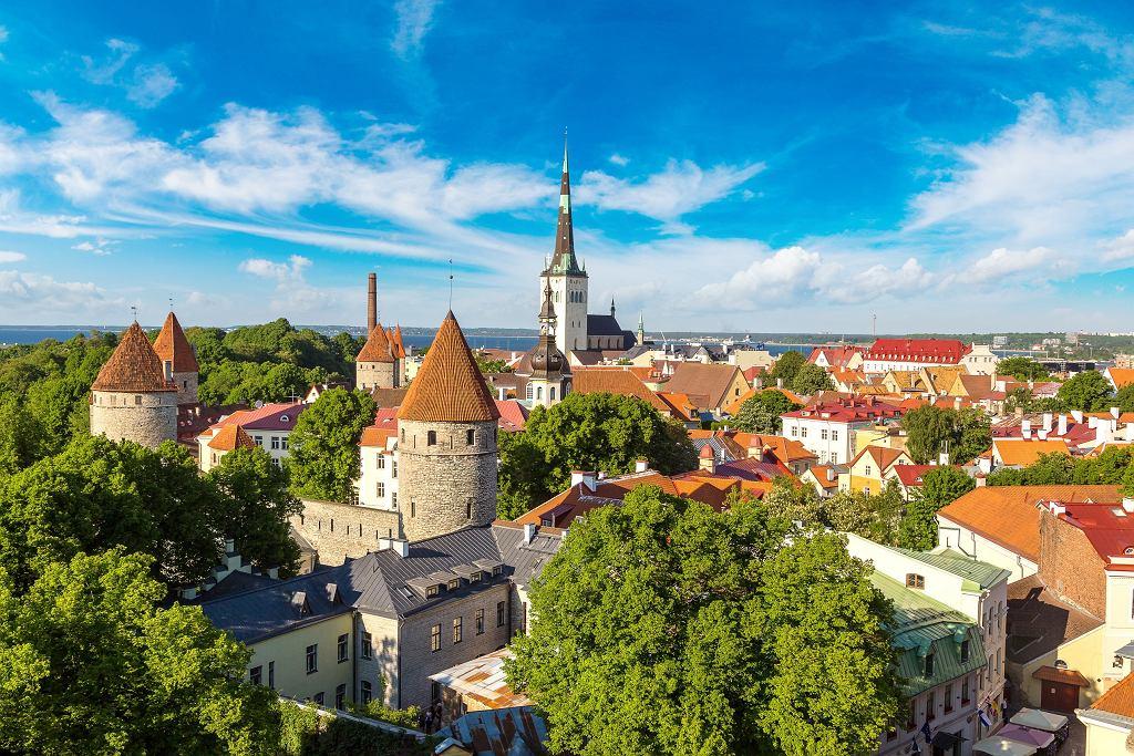 Tallin, stolica Estonii