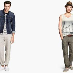 Spodnie z kolekcji H&M. Cena: 129,90 zł
