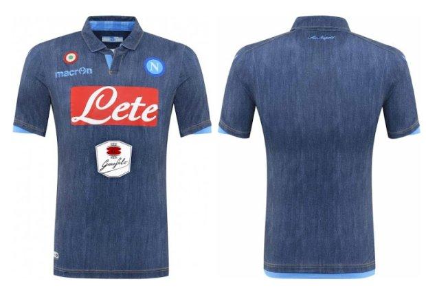 Tuż przed ostatnią kolejką ligową Napoli zaprezentowało swój wyjazdowy komplet strojów na sezon 2014/15. Neapolitańczycy bardzo lubią zaskakiwać - tym razem również nie zawiedli. Ich najnowsze koszulki są... jeansowe