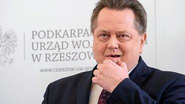 Jarosław Zieliński, wiceminister spraw wewnętrznych.