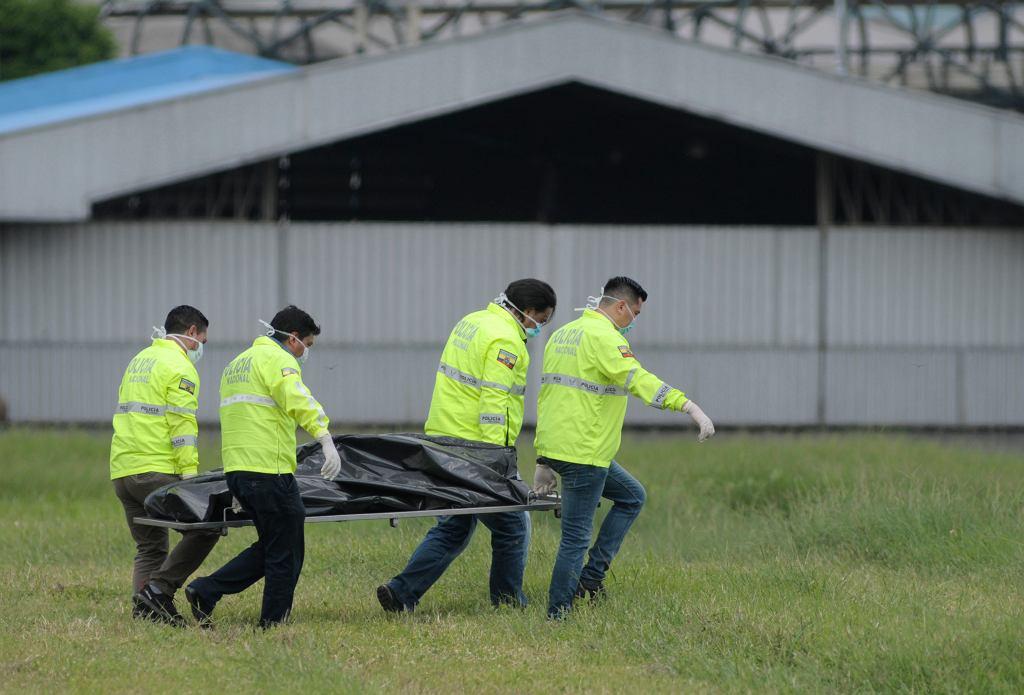 Dwóch mężczyzn wypadło z samolotu. Przebywali w luku podwozia