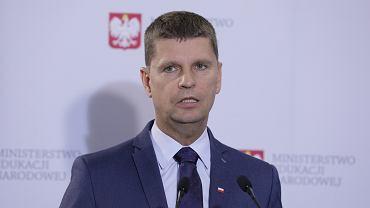 Konferencja prasowa Dariusza Piontkowskiego Ministra Edukacji Narodowej Bezpieczny powrt do szkl' - Dzialania MEN w przygotowaniu organizacji roku szkolnego 2020/2021 w warunkach epidemii