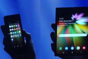 Samsung zaprezentował składany telefon