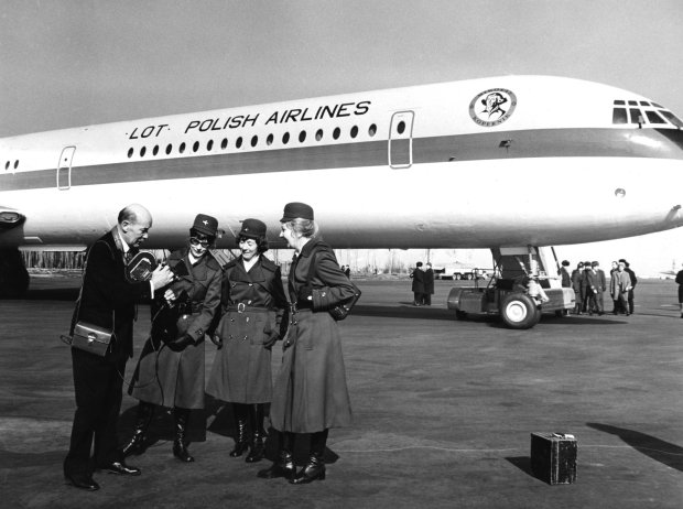 Samolot Polskich Linii Lotniczych LOT Il-62