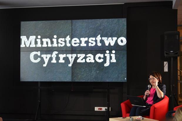 Anna Streżyńska, szefowa Ministerstwa Cyfryzacji