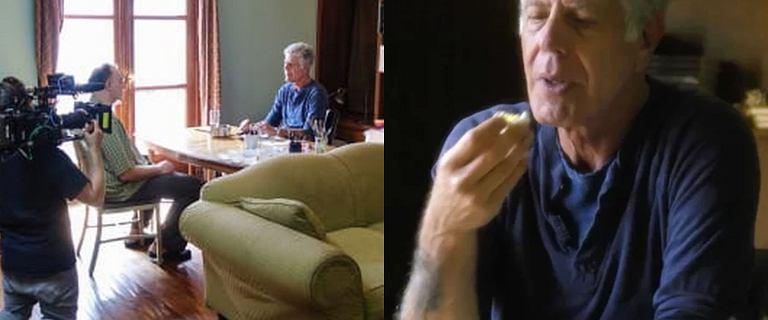 Pół roku po śmierci Bourdaina wyemitowano ostatnią jego scenę w ''Parts Unknown''