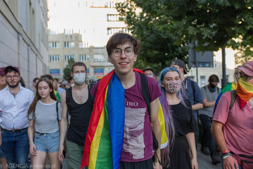 Margot Szutowicz, kolektyw 'Stop Bzdurom'. Warszawa, 7 sierpnia 2020