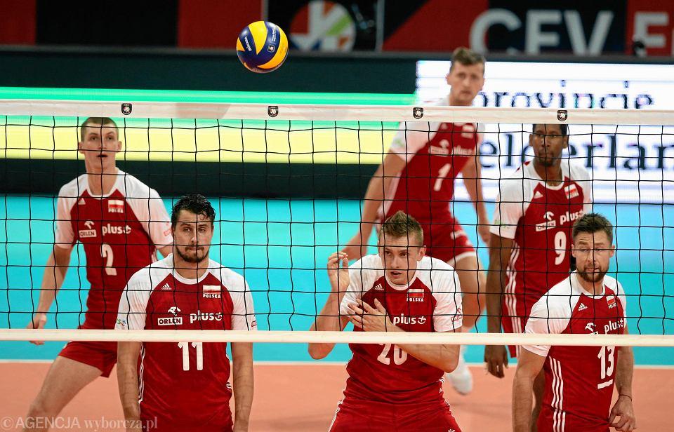 Mistrzostwa Europy siatkarzy. Reprezentacja Polski w meczu z Hiszpanią