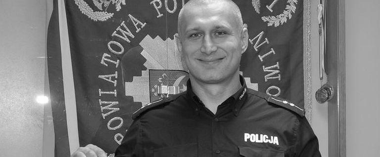 Tragiczny wypadek w Stropkowie. Zginął 39-letni oficer prasowy policji
