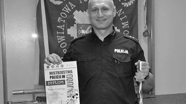 Starszy aspirant Robert Wierciński