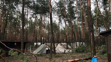 Strażacy ewakuowali 52 obozy harcerskie