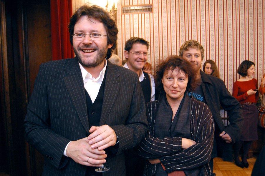 Grzegorz Turnau i jego żona Maryna Barfuss