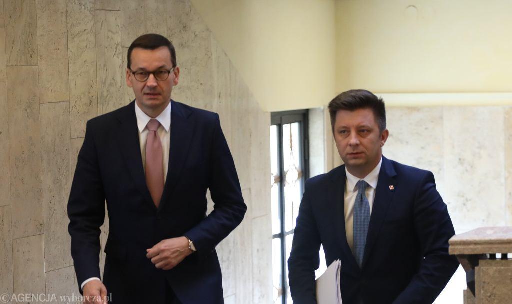 Mateusz Morawiecki, Michał Dworczyk