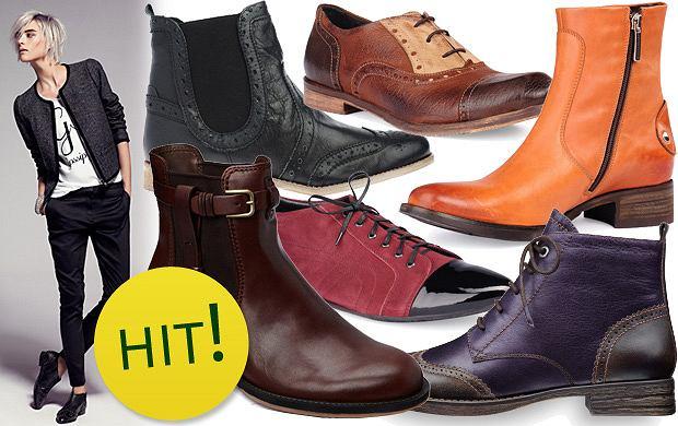 Damskie buty w męskim stylu