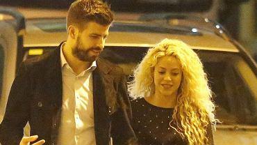 Shakira i Pique na kolacji