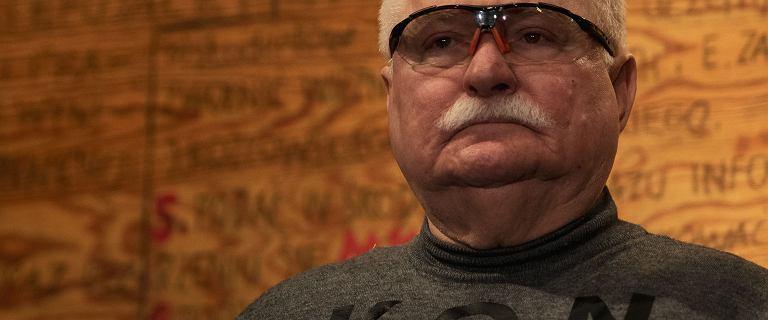 Lech Wałęsa wyszedł ze spektaklu o Solidarności. Powodem były nie tylko wulgaryzmy