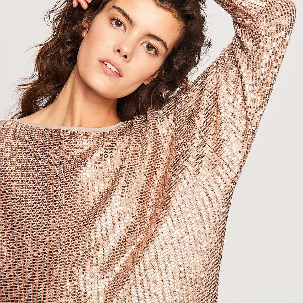 Złota sukienka na święta