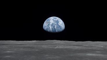 Ziemia sfotografowana z Księżyca przez misję Apollo 11