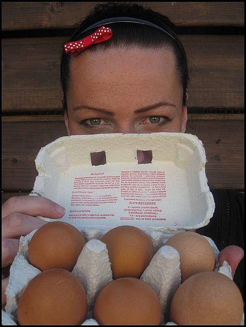 Tosia z jajami