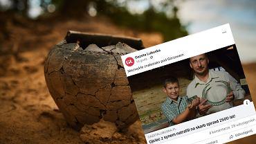 Bogdaniec. Ojciec z synem poszli na spacer, przypadkiem odkryli skarby sprzed 2,5 tys. lat
