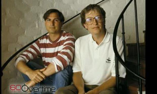 Steve Jobs i Bill Gates - byli w tym samym wieku i powołali do życia największe na świecie firmy komputerowe.