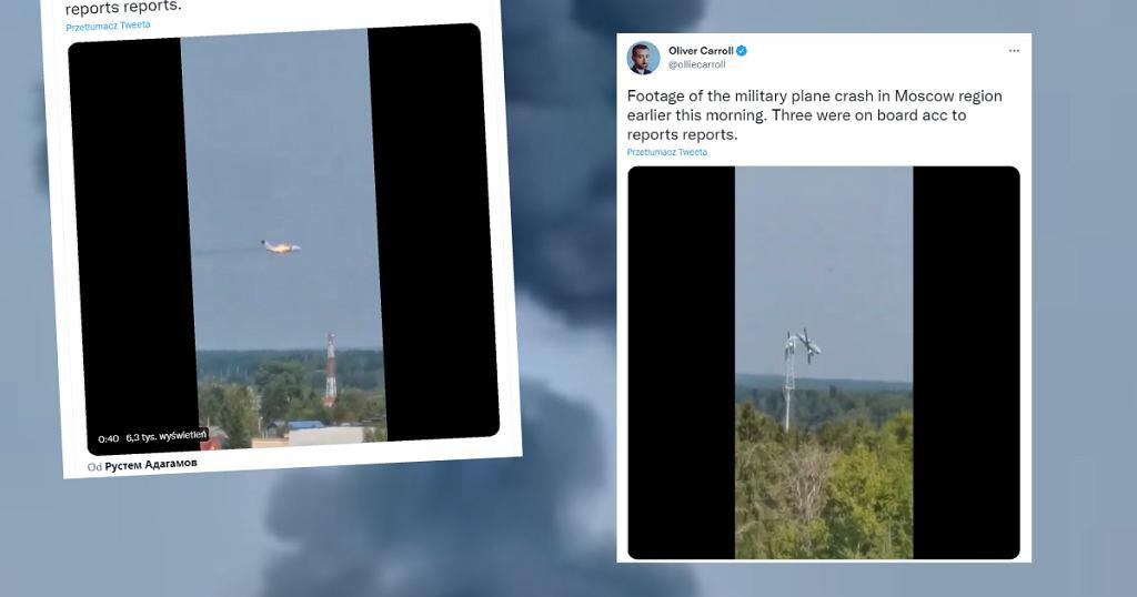 Rosja. Katastrofa samolotu wojskowego. Nie żyją trzy osoby