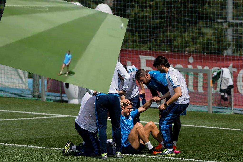 Cristiano Ronaldo za chwilę opuści trening Realu Madryt