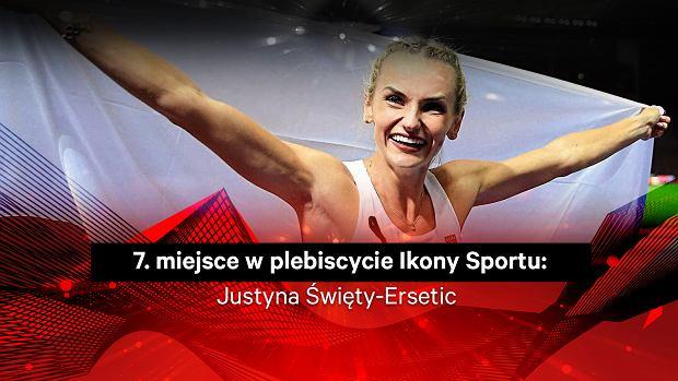 Justyna Święty-Ersetic 7. w plebiscycie Ikony Sportu