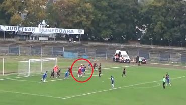 Niezwykły gol w 3. lidze rumuńskiej. Bramkarz doprowadził do wyrównania w ostatnich sekundach