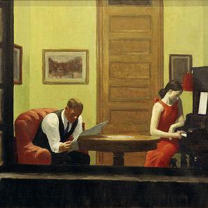 'Pokój w Nowym Jorku', Edward Hopper