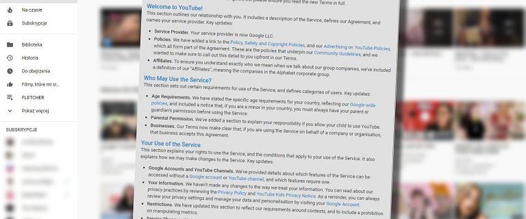 """YouTube może zamknąć ci konto, jeśli uzna, że jest """"niedochodowe"""""""