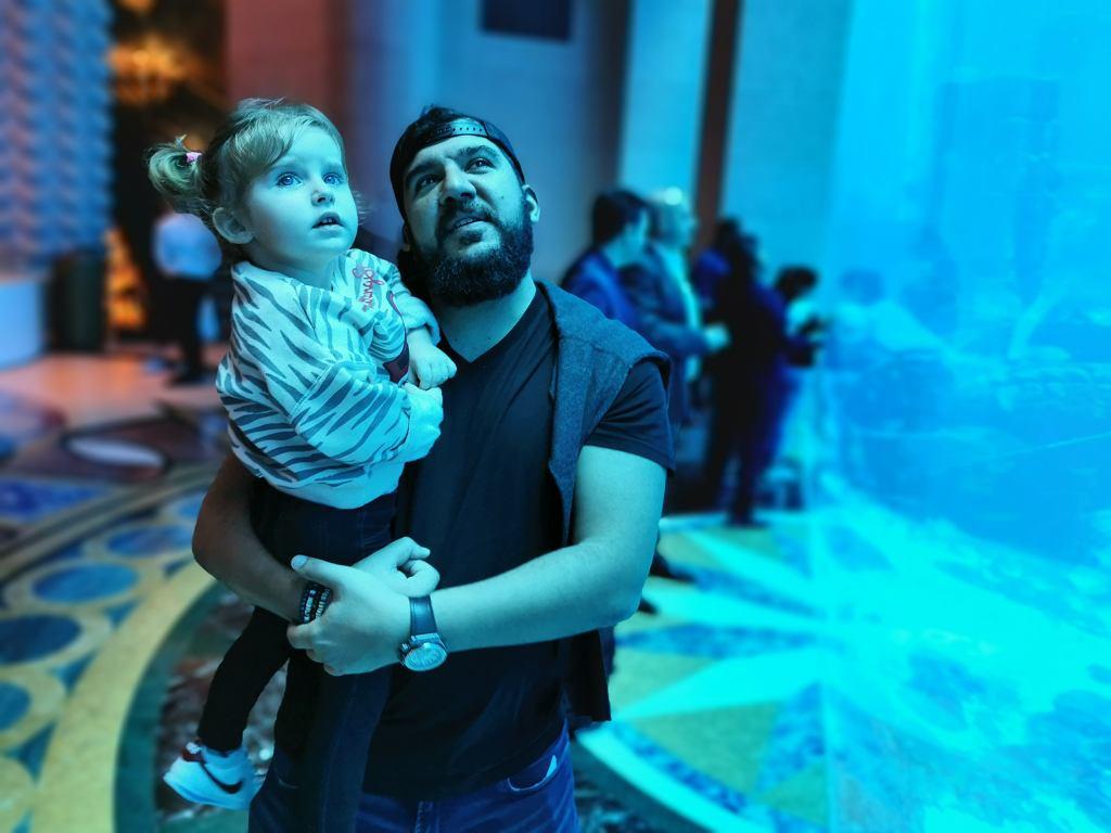 Osama z córką