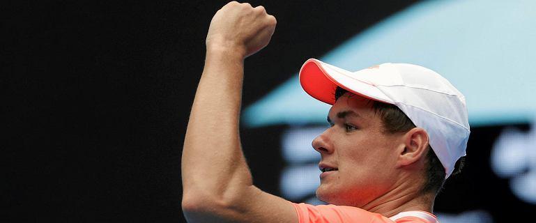 Australian Open. Kamil Majchrzak: Nishikori nie spodziewał się takiego oporu z mojej strony. Czuję żal, że nie mogłem dograć meczu