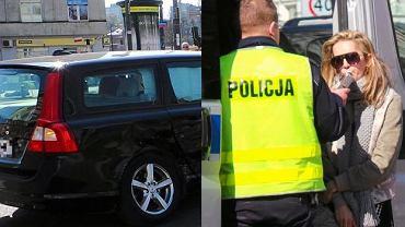 """W środę aktorka Kamilla Baar miała wypadek samochodowy na Placu Unii Lubelskiej w Warszawie. W jej volvo wjechał mercedes. Sprawa wyglądała poważnie, bo w aucie aktorka wiozła swojego 3-letniego synka. Na miejscu zjawiła się karetka, która odwiozła dziecko do szpitala. Samochód aktorki ma uszkodzony bok. Baar oraz drugiego kierowcę poddano testowi alkomatem na obecność alkoholu we krwi. Według badania kierowcy byli trzeźwi. Baar sama skomentowała wypadek. """"Mercedes uderzył we mnie. Stanęliśmy na środku ronda. Synek się wystraszył, ja zresztą też"""" - powiedziała w rozmowie z Se.pl.   Są zdjęcia z tego wypadku."""