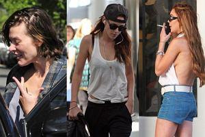 Milla Jovovich, Kristen Stewart, Lindsay Lohan.