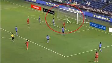 Gol w meczu Japonia - Oman (0:1)