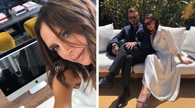 Victoria Beckham bez szpilek to rzadki widok!