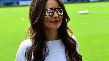 Cheryl Cole na meczu Grenfell
