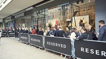 Otwarcie Reserved na Oxford Street