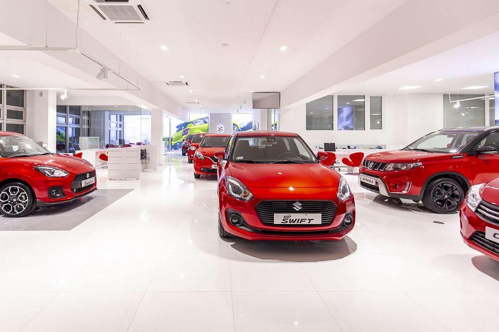 Salon samochodowy Suzuki