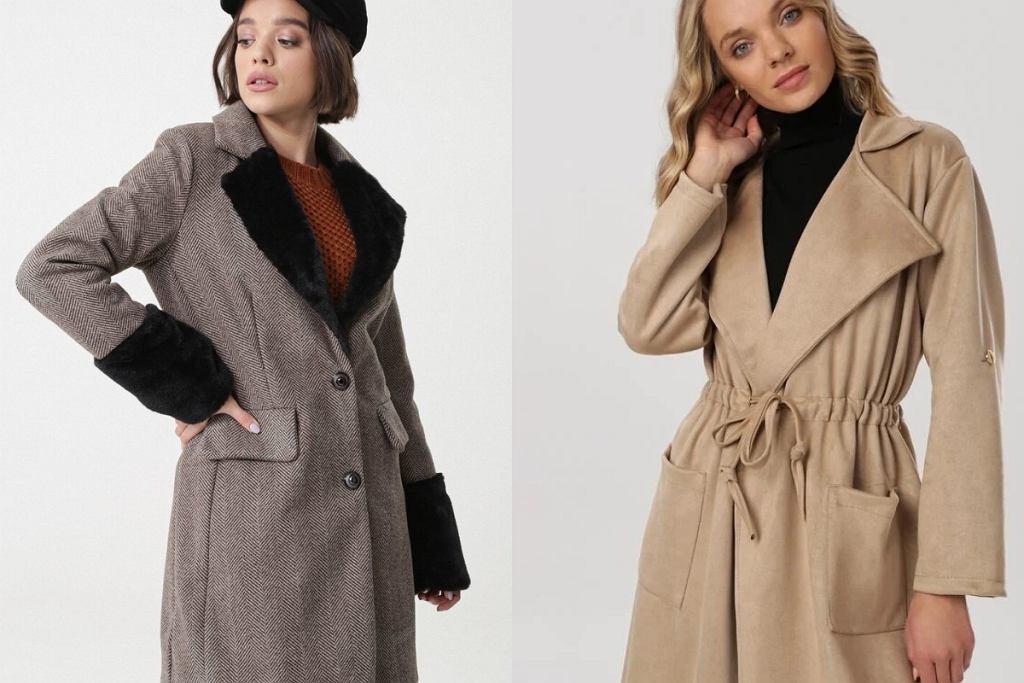 Płaszcze z paskiem na zimę