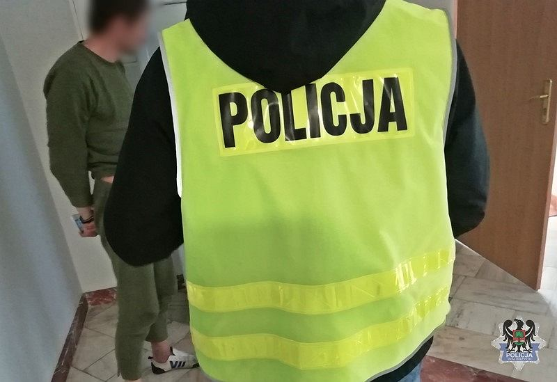 Zatrzymanie podejrzanego o zabójstwo w Głuszycy