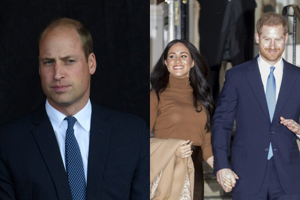 Książę William, Meghan Markle, książę Harry