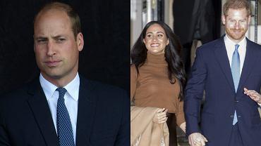 Książę William, Meghan Markle, książę Harry