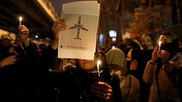 Protest w Teheranie