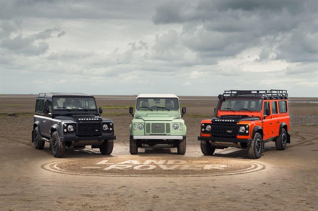 Land Rover Defender Limited Edition Models